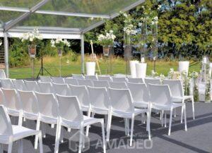 wynajem bialych krzesel eventowych MAYA 04
