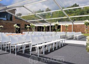 wynajem bialych krzesel eventowych MAYA 05