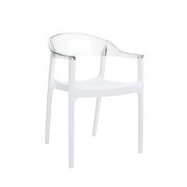 wynajem krzesel krzesla biale przezroczyste carmen 1