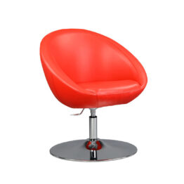 wynajem foteli fotel czerwony lobo red