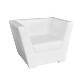 wynajem foteli fotele biale tulip white