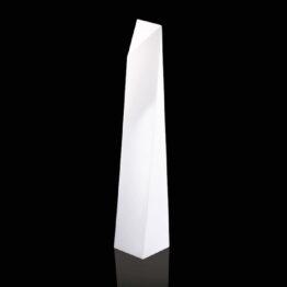wynajem mebli podswietlanych lampa LED manhattan slide