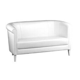 wynajem sof sofa biala skorzana classic duo white