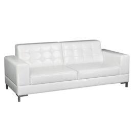wynajem sof sofa biala skorzana venna white