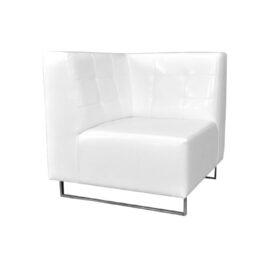 wynajem sof sofa narozna pure corner white