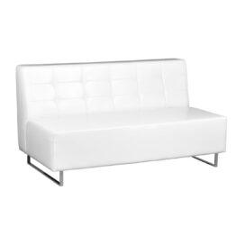 wynajem sof sofa trzyosobowa pure trio white