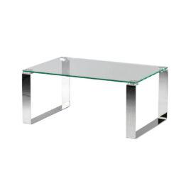 wynajem stolikow stolik cubby inox clear niski