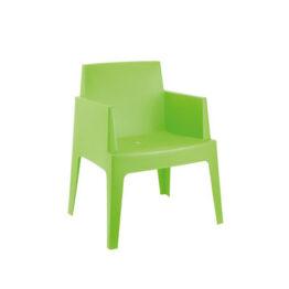 wynajem krzesel krzesla ogrodowe zielone box 1
