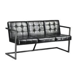 wynajem sof sofa czarna nowoczesna industrial black 2