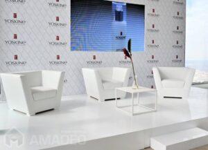 fotele eventowe TULIP biale wynajem 8415