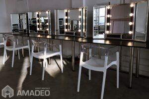 lustra make up backstage wypozyczalnia mebli