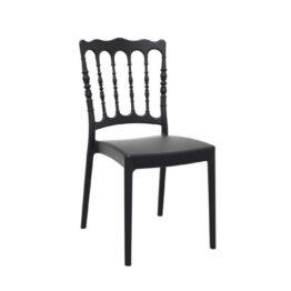 czarne krzeslo Napoleon wynajem Amadeo