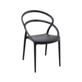 krzeslo eventowe pia czarne