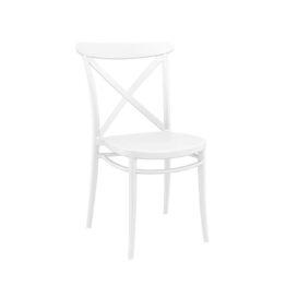 krzeslo loftowe CROSS biale na wynajem
