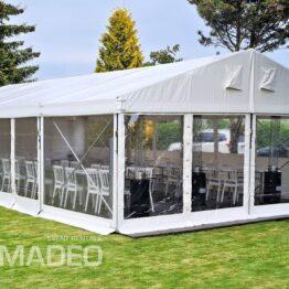 namiot imprezowy bankietowy 6x12m hala namiotowa ALFA wynajem Amadeo