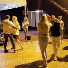 Parkiet taneczny PRESTIGIO - wynajem na imprezy plenerowe