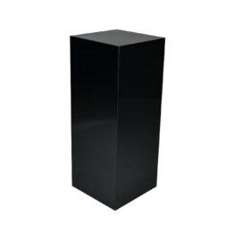 wynajem czarnych ekspozytorow warszawa cube 120 black 1