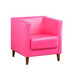 wynajem foteli fotel rozowy mio pink 1