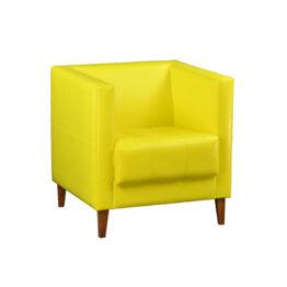 wynajem foteli fotel zolty mio yellow 1