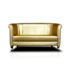 wynajem sof sofa zlota classic duo gold 1