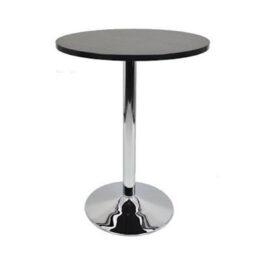 wynajem stolikow koktajlowych koktajlowe stoliki tess 80 black