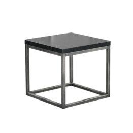 wynajem stolikow niskich stolik kawowy industrial czarny amadeo