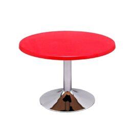wynajem stolikow niskich stolik kawowy tessi 70 chrome red amadeo
